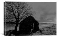 'One Man's Home...', Canvas Print