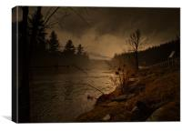 1000 Lakes - Adirondacks, Canvas Print