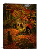 The colours of Autumn, Canvas Print