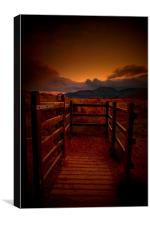 Gateway to Mournes III, Canvas Print