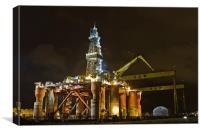 Harland & Wolff Belfast, Canvas Print