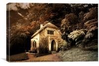 Gothic Cottage - Stourhead Gardens, Canvas Print