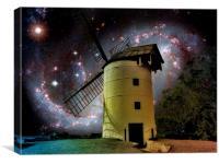 Starlight Mill, Canvas Print