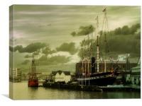 Bristols Sea Maidens, Canvas Print