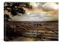 Peaceful Pastures, Canvas Print