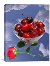 Cherries from Heaven, Canvas Print