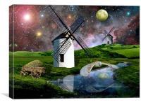 Harvest Moon, Canvas Print