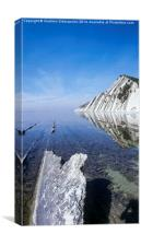 Black sea coast , Canvas Print