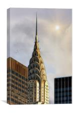 THE CHRYSLER TOWER, Canvas Print