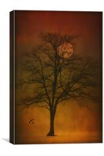 ONE LONELY TREE, Canvas Print