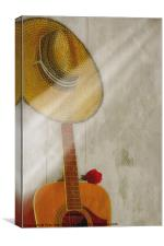 ONE NOTE, Canvas Print