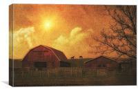 THE FARM, Canvas Print