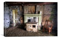 Abandoned Cottage, Isle of Harris, Canvas Print