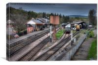 South Devon Railway Buckfastleigh Station Yard