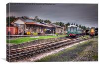 South Devon Railway Buckfastleigh Station, Canvas Print