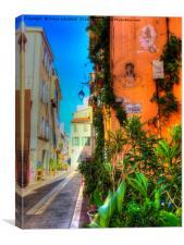 Marseille - Le Panier (Old Town), Canvas Print