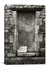 Doorway, Canvas Print