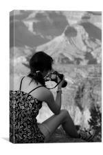 Serena, Grand Canyon, Canvas Print