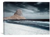 Calpe Rock, Canvas Print