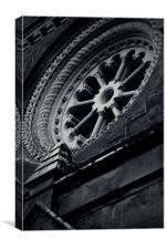 Chapel Window, Canvas Print