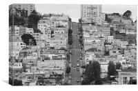 San Francisco Streets, Canvas Print