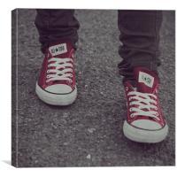 Converse, Canvas Print