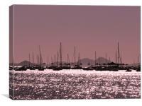 Mar menor, Canvas Print