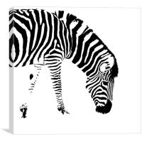 Stripes, Canvas Print