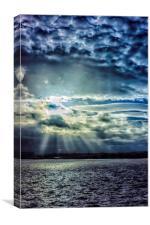 Merseyside Sky, Canvas Print