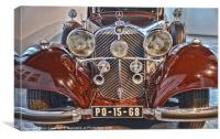 classic car, Canvas Print