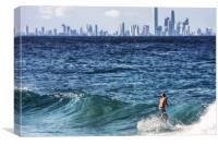 Surf City, Canvas Print