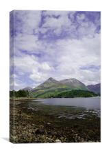 Loch Scotland, Canvas Print
