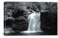 Falloch of Falls, Canvas Print