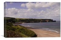 Sandsend Coastal, Canvas Print