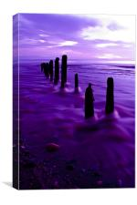 Sandsend Whitby Beach, Canvas Print