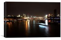 London Bridge skyline, Canvas Print