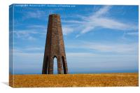 Day Mark Tower, Canvas Print