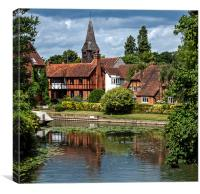 Whitchurch-on-Thames, Canvas Print