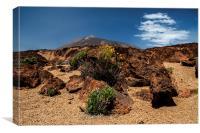 Mount Teide, Tenerife(5), Canvas Print