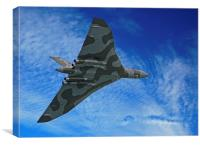 Avro Vulcan (3), Canvas Print