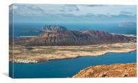 La Graciosa, Canvas Print