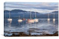 Loch Creran Morning, Canvas Print