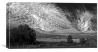 Scottish Skyscape, Canvas Print