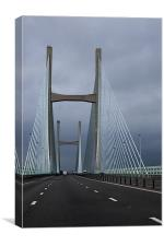 Severn Bridge, Canvas Print