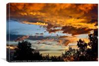 Colorful Sky, Canvas Print
