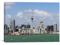 Auckland Water Front, Canvas Print