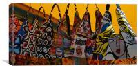 Bag Shop, Canvas Print