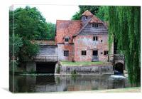 The Old Mill, Mapledurham, Canvas Print