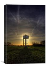 Grantham Water tower, Canvas Print