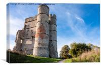 Donnington Castle, Canvas Print